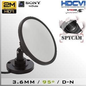 CVI-6915-2MP SpyCam Espejo Profesional Sensor SONY 1080p 2Mp HD-CVI