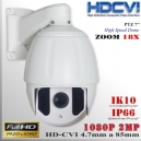 CVI-9202-2MP - PTZ FHD 18X Sensor SONY FULLHD 2MP 14IRLed 150mts.