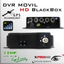 MDVR HD DVR MOVIL HIBRIDO 4CH 720p - BlackBox GPS y 3G