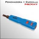 Ponchadora con regulación y Cuchilla | Nexxt