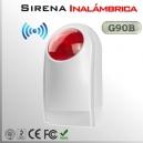 Sirena Inalámbrica RF | G90B