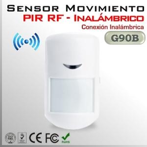 Sensor Inalámbrico de movimiento PIR ( RF ) | G90B