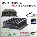 MDVR HD 4CH (GPS + 3G) DVR MOVIL HIBRIDO 720p - BlackBox