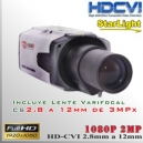 CVI-7000-SL-2MP+2.8MM Starlight Bullet Cam PROF Sensor SONY FHD