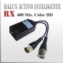 Video Balun Receptor Activo Inteligente | Rx