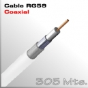 Cable RG59 CU 305m para CVI