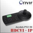 Joystick 3D cámaras PTZ | IP - CVI - Análogo | NVR - CVR - DVR - XVR