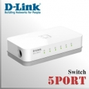 5 Puertos Switch D-Link 10/100Mbps | Plug & Play