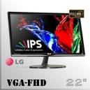 "Monitor 22"" IPS Slim FullHD LG Led Wide Screen | VGA"