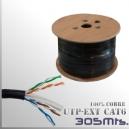 CABLE UTP CAT6 - Exterior 100%CU - 305 MTS.