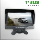 "Monitor 7"" Led Slim - AV INx2 compatible con MDVR"