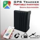 GPS Tracker Portable - Batería 12000mA Larga duración