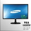"Monitor 22"" Slim SAMSUNG Led Wide Screen HDMI VGA FullHD"