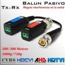 Video Balun Pasivo HD-CVI Multiformato 1080p/720p  - (Video)