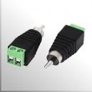 Conector Plug RCA - Macho