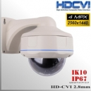 "Domo CVI 4MP 1/2.8"" SONY IMX326 30IRled 2,8mm IP67 IK10"