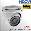 "Domo CVI 4MP 1/2.8"" Sensor SONY IMX326 36 IR led 2,8-12mm Varifocal IP66"