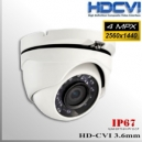 "Domo CVI 4MP 1/2.8"" Sensor SONY IMX326 24 IR led 3.6mm Varifocal IP67"