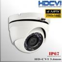 "Domo CVI 4MP 1/2.8"" Sensor SONY IMX326 24 IR led 3.6mm Varifocal IP67"