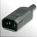 Enchufe C14 Volante IEC UL/CSA - 220v ( Conector UPS APC )