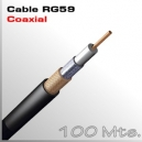 100Mts. Cable RG59 - Coaxial