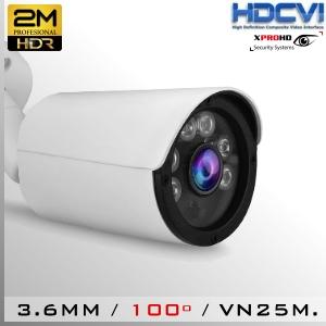 3549-2MP - BoxCam IR Profesional Sensor CMOS 1080p 2Mp FHD