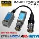 Video Balun Pasivo Tx + Rx 4MP | Multi-Tecnologia Analogica | Datos