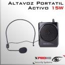 Altavoz Portatil Activo | Amplificador Alta Potencia | 15W