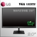 "Monitor 20"" IPS Slim LG Wide Screen HDMI - VGA"