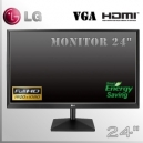 "Monitor 24"" IPS FullHD Slim LG Wide Screen HDMI - VGA"