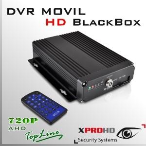 M11H MDVR HD 4CH DVR MOVIL 720p | Control Remoto - BlackBox