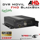 M22H MDVR HD 4CH DVR MOVIL 1080p AHD | Control Remoto - BlackBox