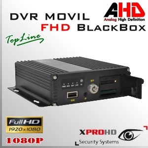MDVR HD 4CH DVR MOVIL 1080p AHD | Control Remoto - BlackBox