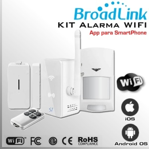 KIT Alarma WIFI SmartOne S1 by Broadlink - KIT alarma inteligente
