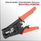 Crimpadora compresion conector BNC-F-RCA para cable coaxial