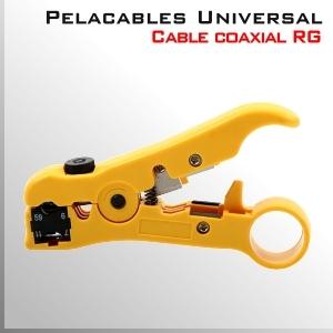 Herramienta pelacables Universal - Coaxial