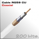 Cable RG59 CU 200m para CVI