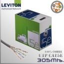 Cable UTP CAT5E Leviton - 305 Mts.
