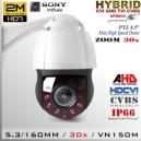 9212-2MP PTZ 30X Hibrida Sensor SONY FullHD 2MP IR 150mts.
