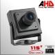AHD5 - Camara 1.3MP Pinhole Sensor SONY 720p Movil DVR (MDVR) - 115º