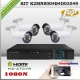 KCVI-K2MN8004B4D03549 - KIT HD 1080N 4cámaras XPROHD CVR HIB 4Ch 4AUD