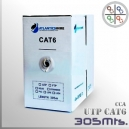 Cable UTP CAT6 CCA PVC 23AWG - 305 Mts.