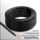CABLE PARALELO MULTIFILAR 2x30AWG /0.15mm 100 MTS - NEGRO