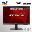 "Monitor 19"" Slim ViewSonic Led Wide Screen HDMI VGA"