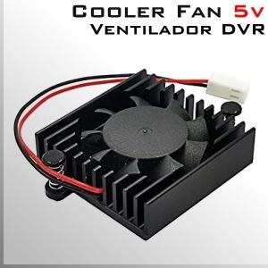 Cooler FAN 5v Respuesto Disipador y Ventilador DVR XPROHD DAHUA
