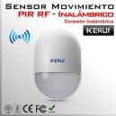 Sensor Inalámbrico de movimiento PIR ( RF ) | KERUI G19