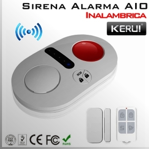 KIT Basico Alarma Inalámbrica AIO | X2