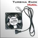 Turbina RACK 220V Ventilador Mural | ENCHUFE CHILENO