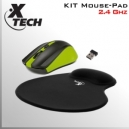 KIT Mouse DVR inalámbrico + Mouse PAD apoya muñeca