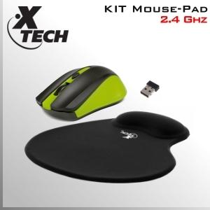 KIT Mouse DVR inalámbrico + Mouse PAD apoya muñeca
